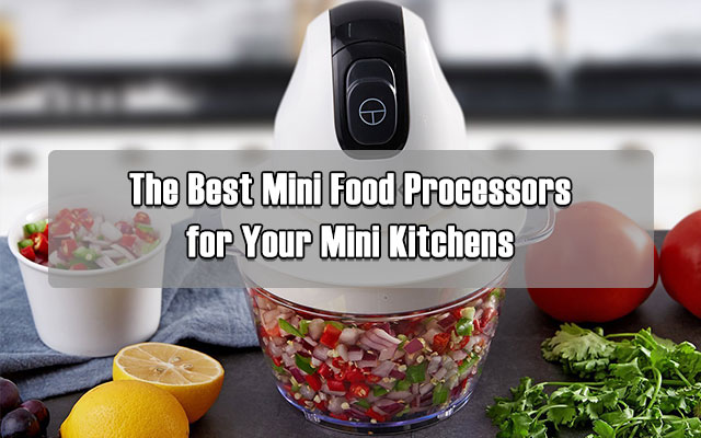 Contrast To Commercial Food Processors, We Have The Mini Sized.
