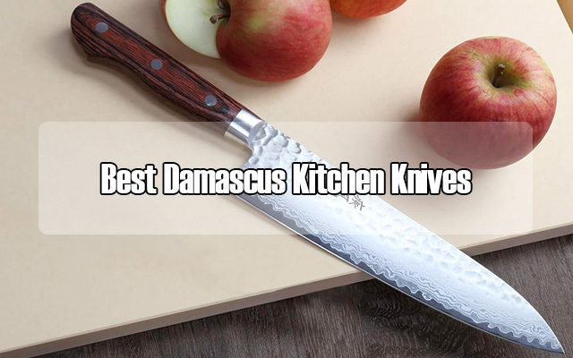 Best Damascus Kitchen Knives for 2018 - Cool Kitchen Utensils
